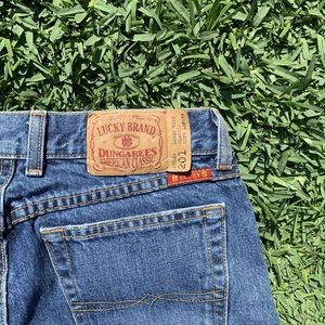 LUCKY BRAND🍀DUNGAREES CLASSIC MEDIUM WASH JEANS